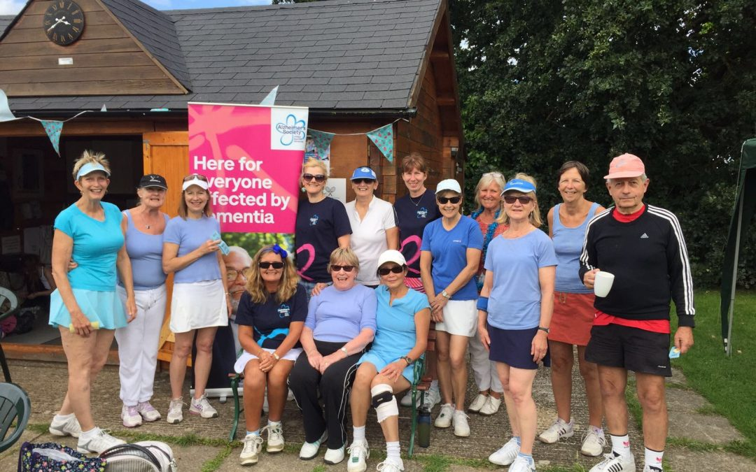 Presidents' Charity WAGS supporting The Alzheimers Society